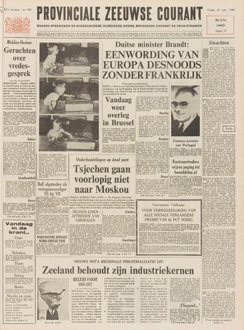 Provinciale Zeeuwse Courant 1968-09-27