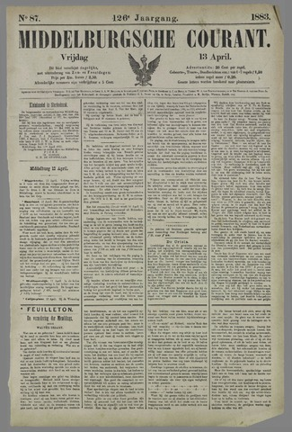 Middelburgsche Courant 1883-04-13