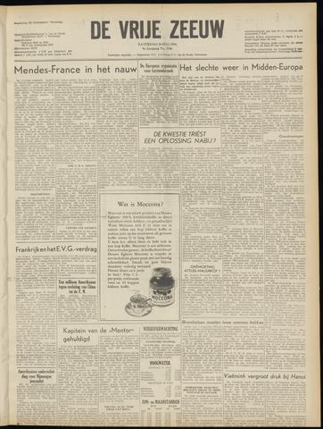 de Vrije Zeeuw 1954-07-10