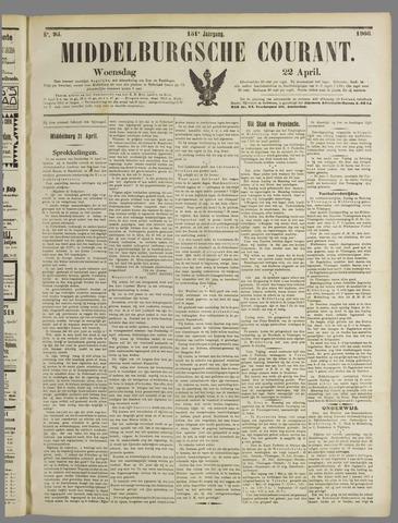 Middelburgsche Courant 1908-04-22