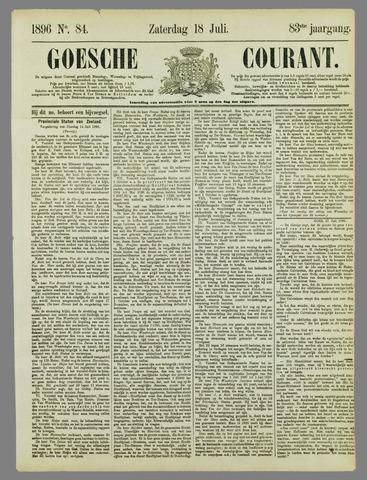 Goessche Courant 1896-07-18
