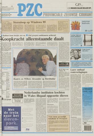 Provinciale Zeeuwse Courant 1995-08-25