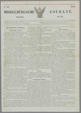 Middelburgsche Courant 1854-05-20