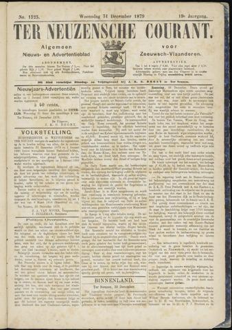 Ter Neuzensche Courant. Algemeen Nieuws- en Advertentieblad voor Zeeuwsch-Vlaanderen / Neuzensche Courant ... (idem) / (Algemeen) nieuws en advertentieblad voor Zeeuwsch-Vlaanderen 1879-12-31
