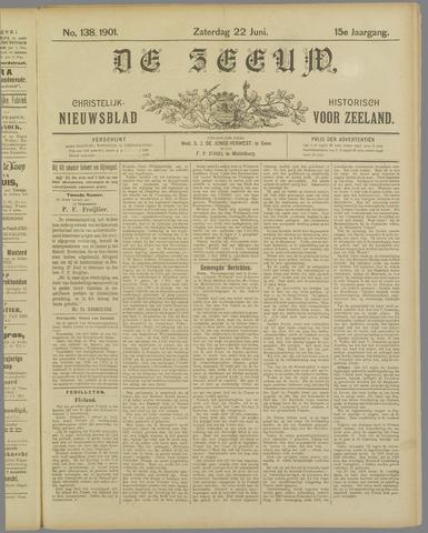 De Zeeuw. Christelijk-historisch nieuwsblad voor Zeeland 1901-06-22