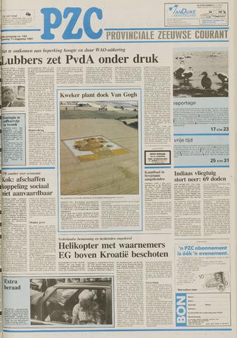 Provinciale Zeeuwse Courant 1991-08-17
