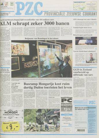 Provinciale Zeeuwse Courant 2003-05-09