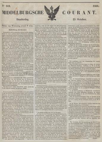 Middelburgsche Courant 1866-10-25