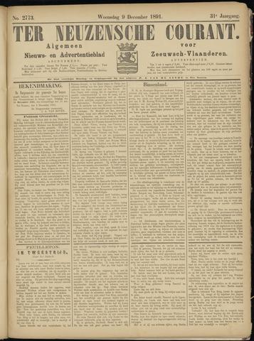 Ter Neuzensche Courant. Algemeen Nieuws- en Advertentieblad voor Zeeuwsch-Vlaanderen / Neuzensche Courant ... (idem) / (Algemeen) nieuws en advertentieblad voor Zeeuwsch-Vlaanderen 1891-12-09