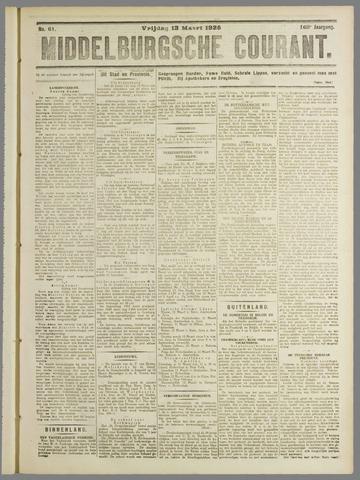 Middelburgsche Courant 1925-03-13