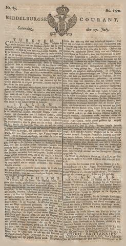 Middelburgsche Courant 1779-07-17