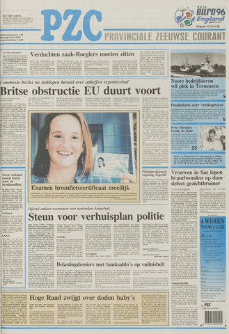 Provinciale Zeeuwse Courant 1996-06-04