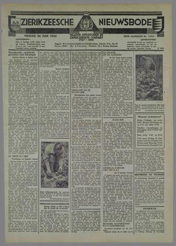 Zierikzeesche Nieuwsbode 1942-06-26