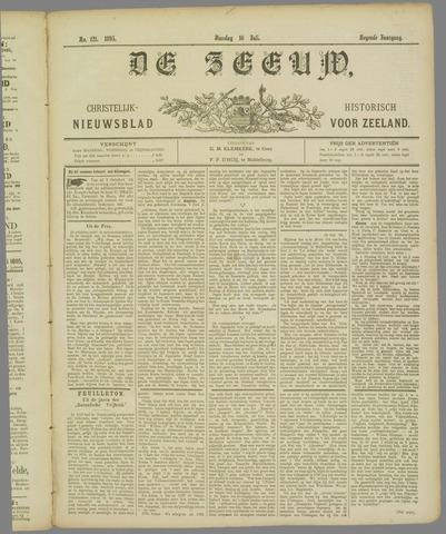 De Zeeuw. Christelijk-historisch nieuwsblad voor Zeeland 1895-07-16