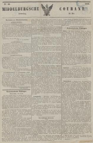 Middelburgsche Courant 1850-05-25