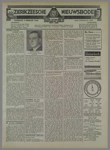 Zierikzeesche Nieuwsbode 1940-02-03
