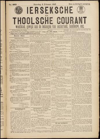 Ierseksche en Thoolsche Courant 1917-02-03