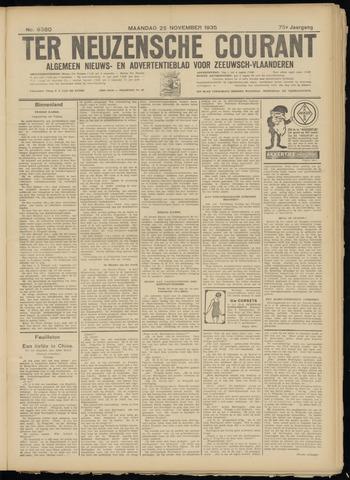 Ter Neuzensche Courant. Algemeen Nieuws- en Advertentieblad voor Zeeuwsch-Vlaanderen / Neuzensche Courant ... (idem) / (Algemeen) nieuws en advertentieblad voor Zeeuwsch-Vlaanderen 1935-11-25