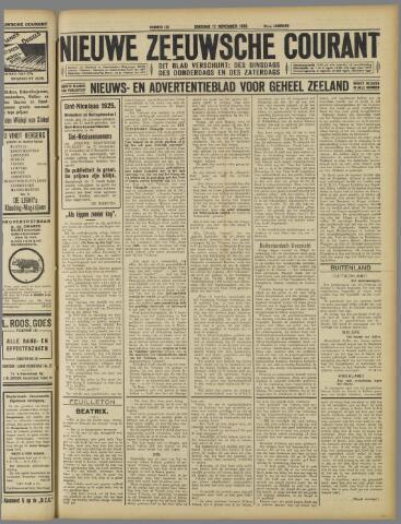 Nieuwe Zeeuwsche Courant 1925-11-17