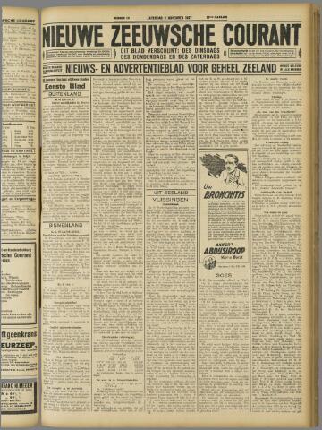 Nieuwe Zeeuwsche Courant 1927-11-05