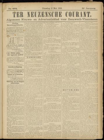 Ter Neuzensche Courant. Algemeen Nieuws- en Advertentieblad voor Zeeuwsch-Vlaanderen / Neuzensche Courant ... (idem) / (Algemeen) nieuws en advertentieblad voor Zeeuwsch-Vlaanderen 1919-05-06