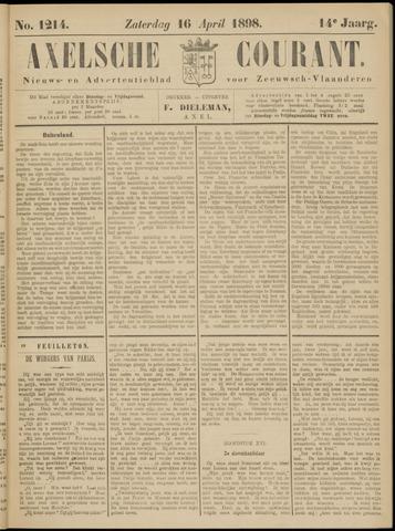 Axelsche Courant 1898-04-16