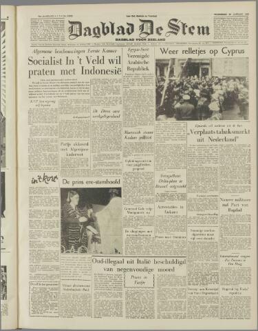 de Stem 1958-01-29