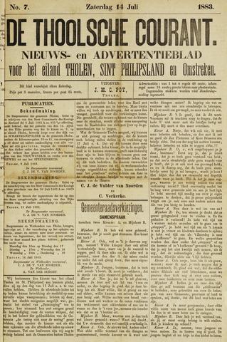 Ierseksche en Thoolsche Courant 1883-07-14