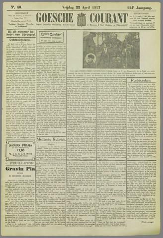 Goessche Courant 1927-04-22