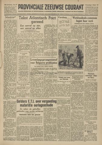 Provinciale Zeeuwse Courant 1949-03-09