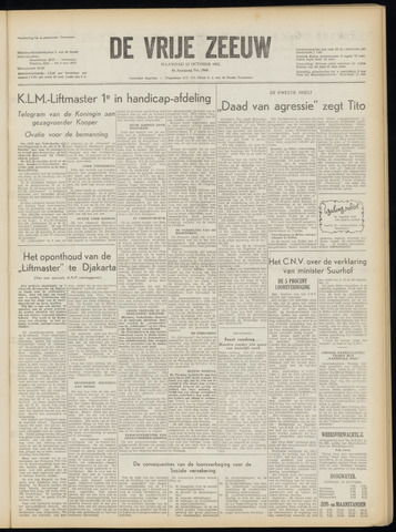 de Vrije Zeeuw 1953-10-12