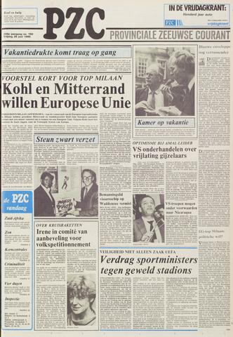 Provinciale Zeeuwse Courant 1985-06-28