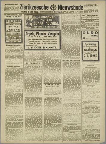Zierikzeesche Nieuwsbode 1922-12-08