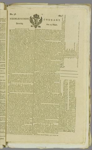 Middelburgsche Courant 1809-03-25