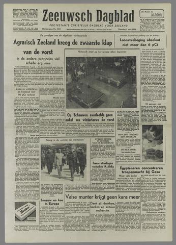 Zeeuwsch Dagblad 1956-04-07