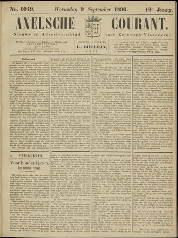 Axelsche Courant 1896-09-09