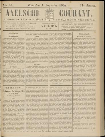 Axelsche Courant 1908-08-01