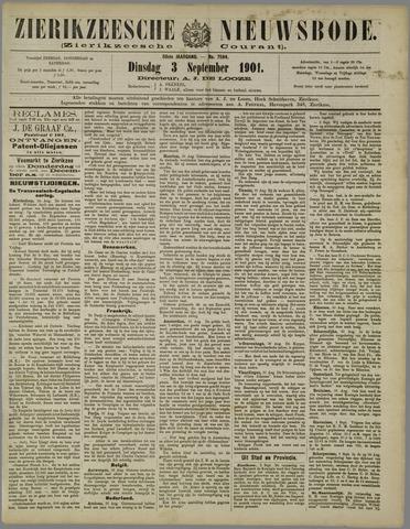 Zierikzeesche Nieuwsbode 1901-09-03