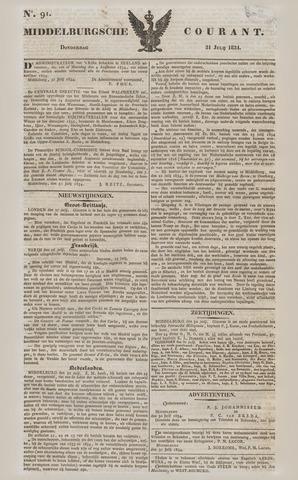 Middelburgsche Courant 1834-07-31