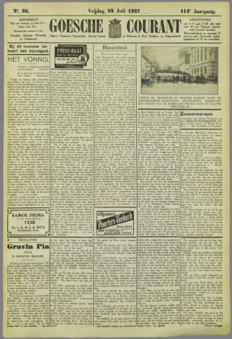 Goessche Courant 1927-07-22