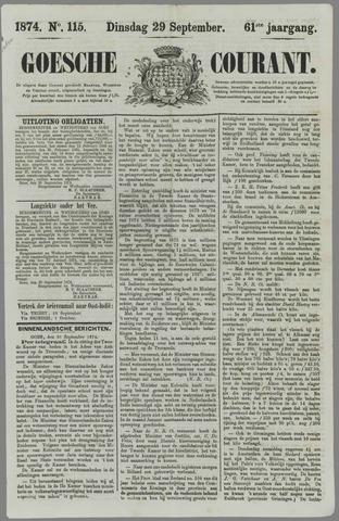 Goessche Courant 1874-09-29