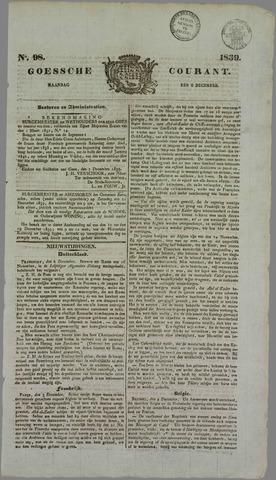 Goessche Courant 1839-12-09