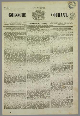 Goessche Courant 1854-01-12