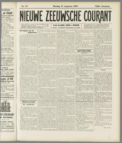 Nieuwe Zeeuwsche Courant 1909-08-10