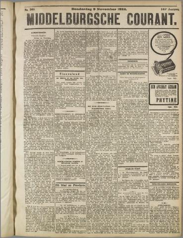 Middelburgsche Courant 1922-11-09