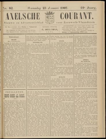 Axelsche Courant 1907-01-23