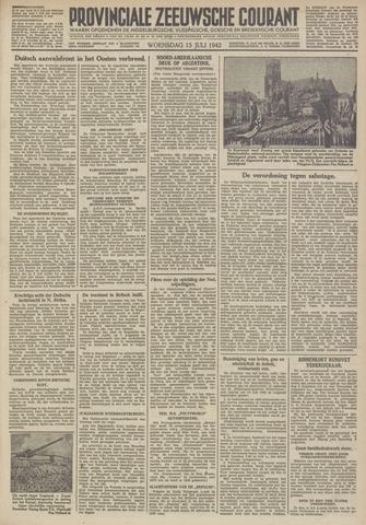 Provinciale Zeeuwse Courant 1942-07-15