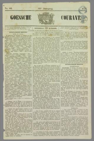 Goessche Courant 1857-10-22