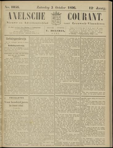 Axelsche Courant 1896-10-03