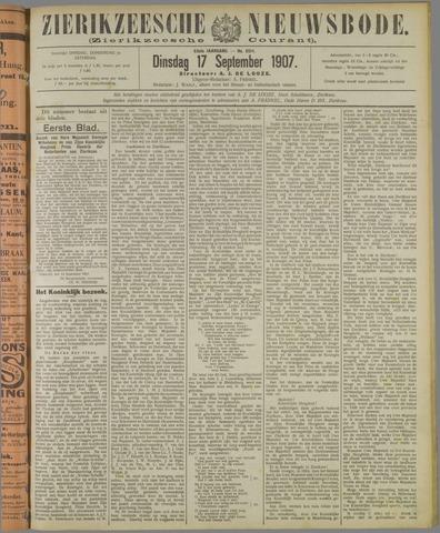 Zierikzeesche Nieuwsbode 1907-09-17